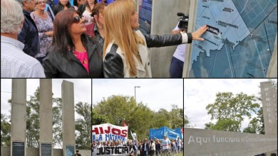 Photo of Aldo Bonzi:Quedó inaugurado el Monumento por la Memoria, Verdad y Justicia