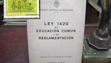 Photo of Informe, educación: ¿La Ley 1420 sigue vigente?