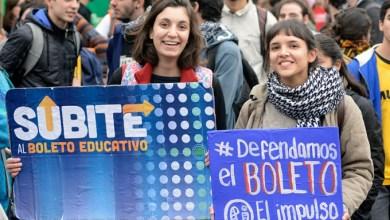 Photo of Movilización:Multitudinaria marcha pidiendo por el Boleto Estudiantil