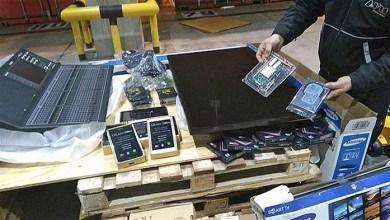 Photo of Contrabando:Detectan contrabando millonario de electrónicos en la Aduana