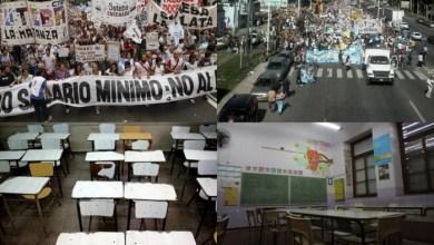 Photo of Plan de lucha: Crece el conflicto docente por los salarios y anuncian paros