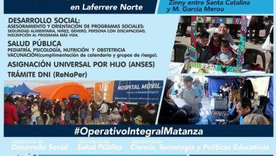 Photo of Por dos semanas, los operativos integrales de DNI se trasladarán a Laferrere Norte