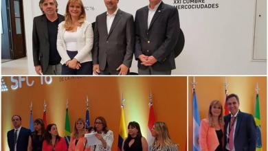 Photo of XXI Cumbre de Mercociudades : Magario representó a la FAM en Santa Fe