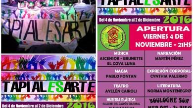 Photo of Tapiales: Comienza el TapialEsArte 2016 con más de 100 artistas y expositores