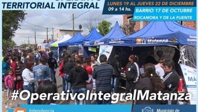 Photo of El último Operativo Integral del año en Rafael Castillo