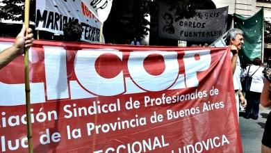 Photo of Médicos de la CICOP anunciaron nuevos paros en reclamo de aumentos