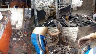 Photo of Gregorio de Laferrere: una familia perdió todo en un incendio y requiere ayuda