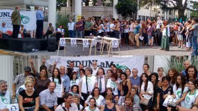 Photo of Se realizó la clase pública de Medicina contra los despidos en la UNLaM