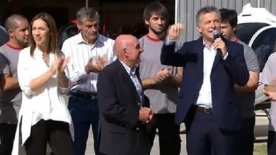 Photo of Fuerte apoyo del presidente a Maria Eugenia Vidal