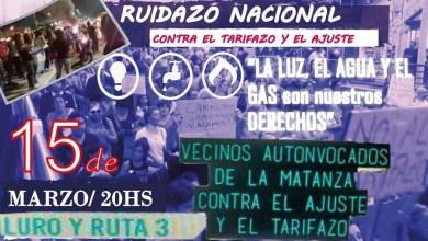 Photo of Tarifazo: Vecinos de La Matanza se suman al ruidazo nacional