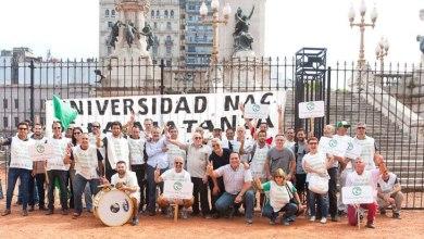 Photo of ADUNLaM participó de la movilización en defensa de la educación pública
