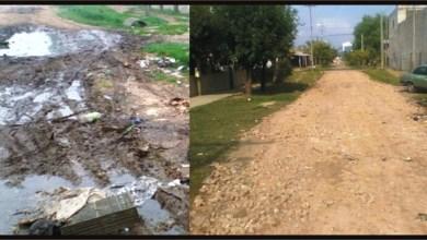 Photo of Virrey del Pino: Se niveló la calle Dupuy entre Campana y Camarones