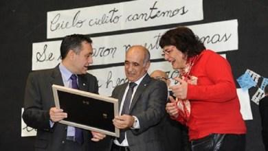 Photo of Visita del titular de Cultura provincial a la secundaria 4