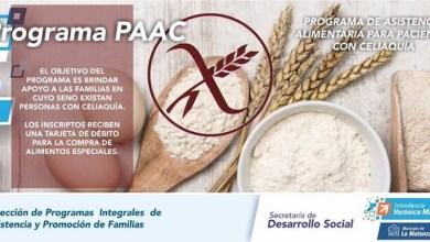 Photo of Existe el PAAC para personas con celiaquía