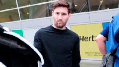 Photo of Messi llegó a Rosario para su casamiento
