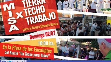 Photo of Ciudad Evita: Misa por los derechos a la Tierra, el Techo y el Trabajo
