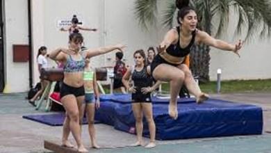 Photo of Programa: Estudiantes secundarios practicaron gimnasia artística
