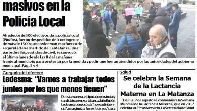 Photo of #BuenMiercoles Portada edición impresa en NCO 02-08-2017