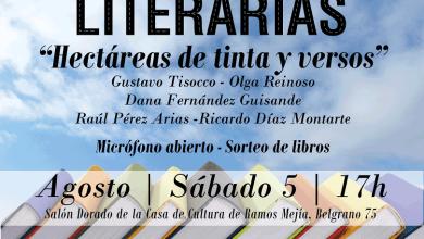 """Photo of El ciclo """"Rutas Literarias"""" brindará una nueva y cautivante propuesta titulada """"Hectáreas de tinta y versos"""""""