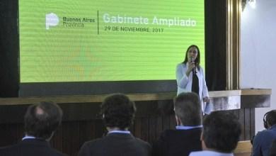 Photo of Verónica Magario en el encuentro de cierre del ciclo lectivo