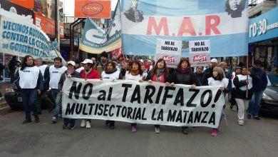 Photo of La Multisectorial en la movilización contra el ajuste
