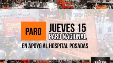 Photo of Paro Nacional de FESPROSA