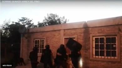 """Photo of Tres Bunker de la banda """"Las Brujas de Lucho"""" fueron derrumbados"""