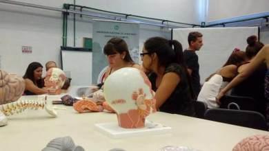 Photo of Osteoteca para los alumnos de Salud