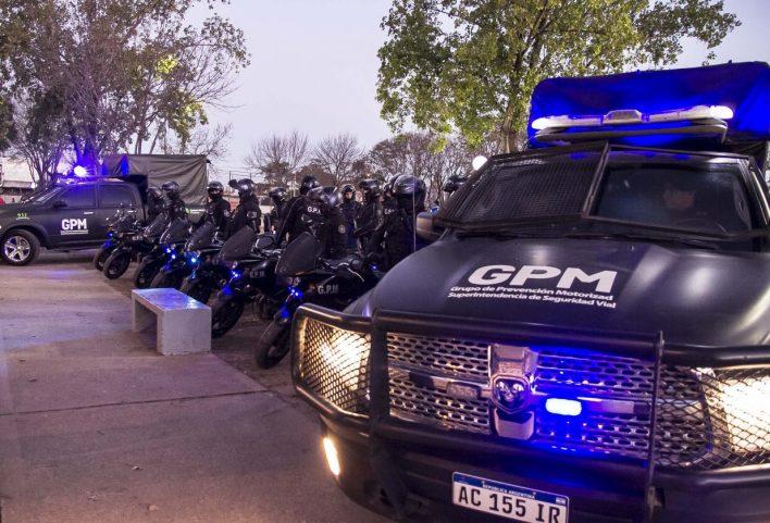 La Policía Motorizada