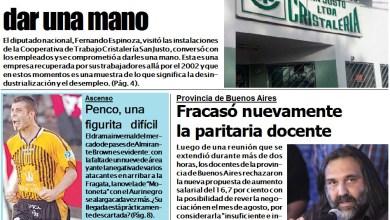 Photo of #NCO, Portada Edición Impresa, Miércoles 25 de julio
