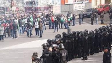 Photo of Tensión: incidentes en el Ministerio de Agroindustria