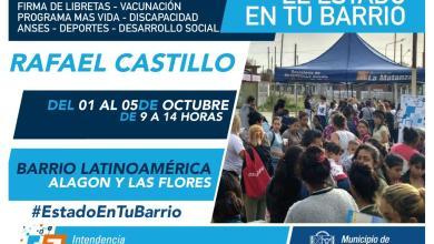 Photo of El Estado en tu Barrio regresa a Rafael Castillo