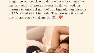 Photo of Cigüeña: Dalma Maradona confirmó su embarazo… ¡y mirá la reacción de su papá!