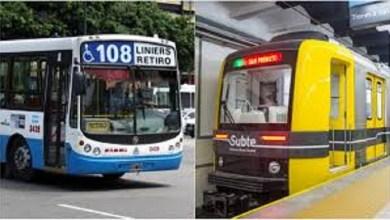 Photo of UTA confirmó que el próximo martes no habrá transporte por el paro nacional