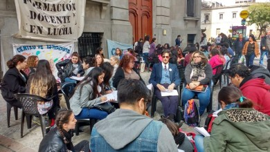 Photo of Comenzó la vigilia frente a la Legislatura porteña en contra de la UniCABA