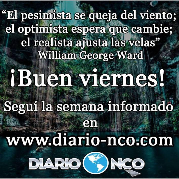 Frase del Día en DiarioNCO 19-10-2018 #BuenViernes