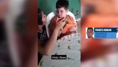 Photo of El tierno gesto de Franco Armani con un niño tucumano fanático de River