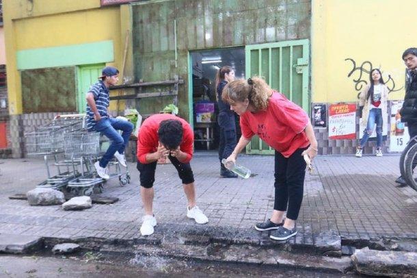 La Plata: atacaron un súper chino con bombas molotov