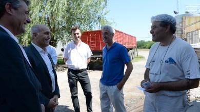 Photo of Daniel Salvador se reunió con el intendente y visitó una PyME local