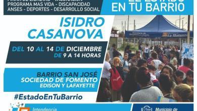 Photo of El Estado en tu Barrio regresa a Isidro Casanova
