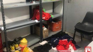 Photo of El vestuario de deportivo moròn fue asaltado