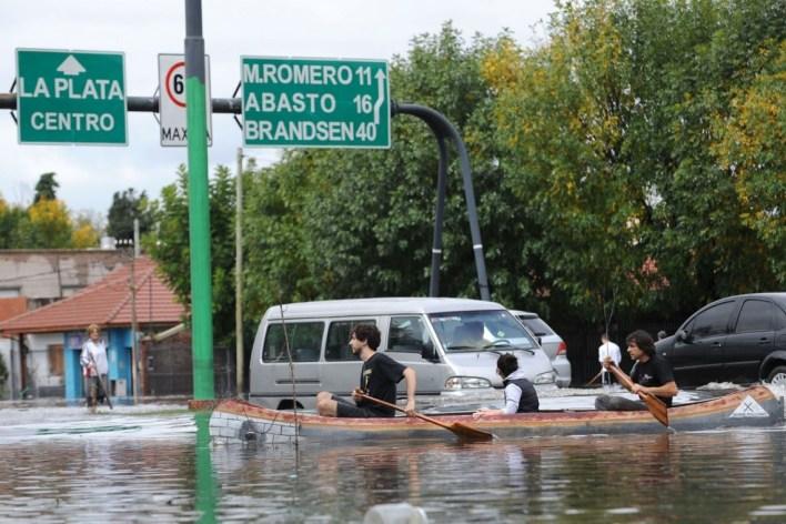 La municipalidad de La Plata denuncia un intento de sabotaje en desagües