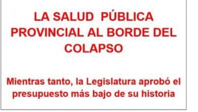 """Photo of Médicos bonaerenses denuncian que la """"salud pública está al borde del colapso"""""""