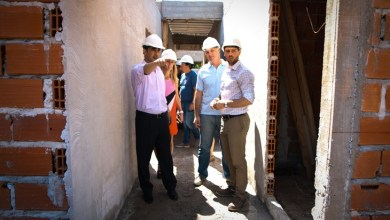 Photo of Tagliaferro recorrió el avance de la obra del nuevo Centro de Salud de Castelar Norte