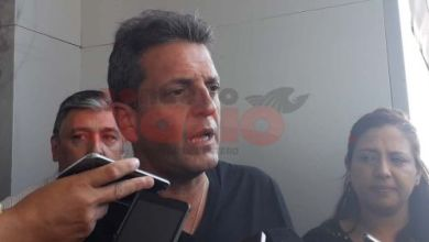 Photo of Massa arribó al aeropuerto de Las Termas y fue recibido por el intendente Mirolo