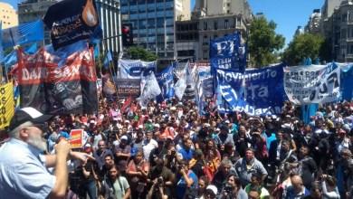 """Photo of Jornada nacional de lucha: un millón de personas se movilizaron por """"tierra, techo y trabajo"""""""