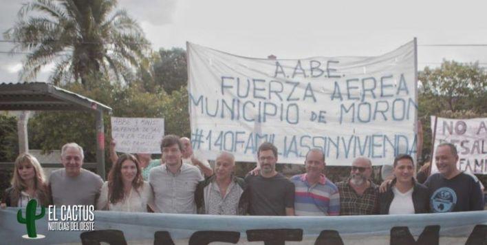 Morón | La oposición unida para frenar los desalojos del Barrio Aeronáutico de El Palomar