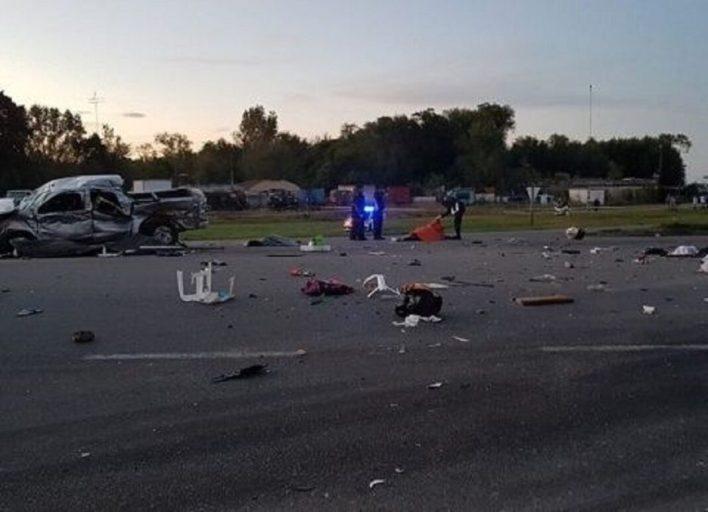Una familia gitana de Hurlingham fue víctima de un accidente fatal.