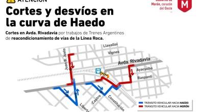 Photo of Por obras de Trenes Argentinos, el paso a nivel de Rivadavia del tren Roca permanecerá cerrado por una semana