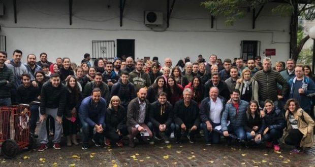 Campaña 2019: El Gabinete de Tagliaferro salió a las calles de Morón para intercambiar experiencias de la gestión
